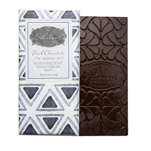 Ethereal - Haiti 70% Single Origin Dark Chocolate Bar, 64g
