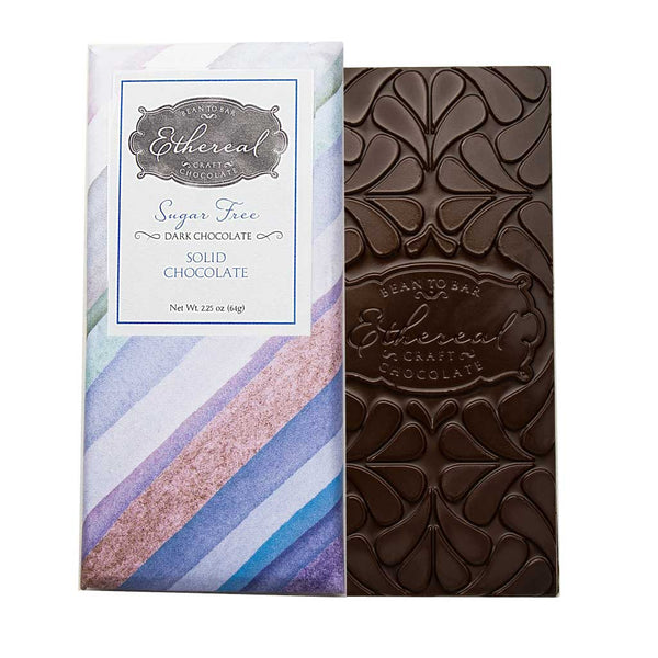 Ethereal - Sugar Free Dark Chocolate Bar, 64g