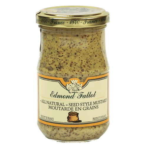 Edmond Fallot – Old Fashioned Seeded Dijon Mustard, 7.2oz Jar
