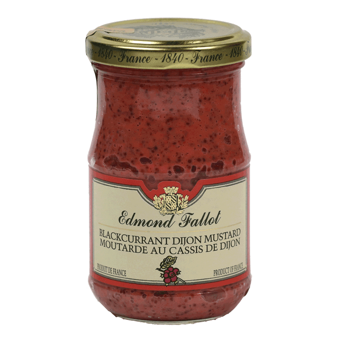 Edmond Fallot – Dijon Mustard - Blackcurrant, 7.2oz Jar