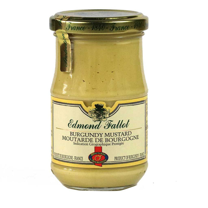 Edmond Fallot - Burgandy Stone Ground Mustard, 7.4oz Jar
