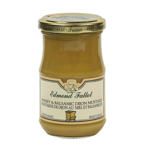 Edmond Fallot – Honey and Balsamic Dijon Mustard, 7.4oz Jar