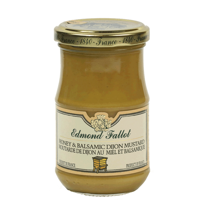 Edmond Fallot – Honey & Balsamic Dijon Mustard, 7.4oz Jar