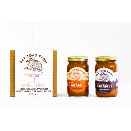 Fat Toad Farm - Sweet Duo Caramel Gift Box, 2 x 8oz