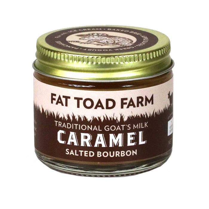 Fat Toad Farm - Salted Bourbon Goat's Milk Caramel Sauce