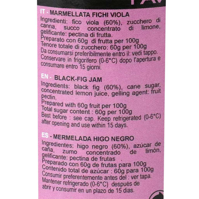 Favols - Black Fig Jam, 270g (9.5 oz)