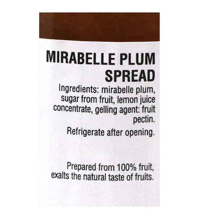 Favols - Mirabelle Plum Jam (100% Fruit, No Sugar, No Pectin), 250g Jar