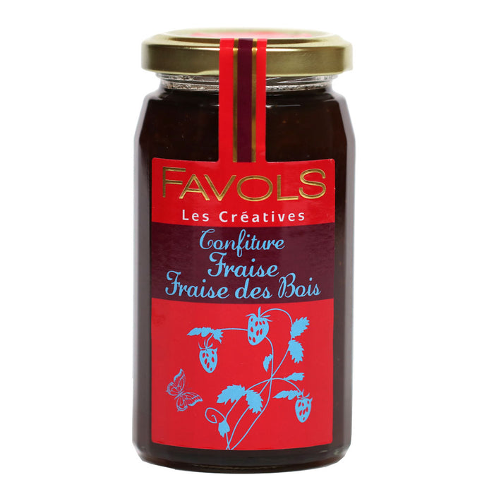 Favols - Wild Strawberry Jam, 270g Jar