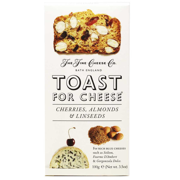 Fine Cheese Co - Toasts For Cheeses, Cherries & Almond, 3.2oz