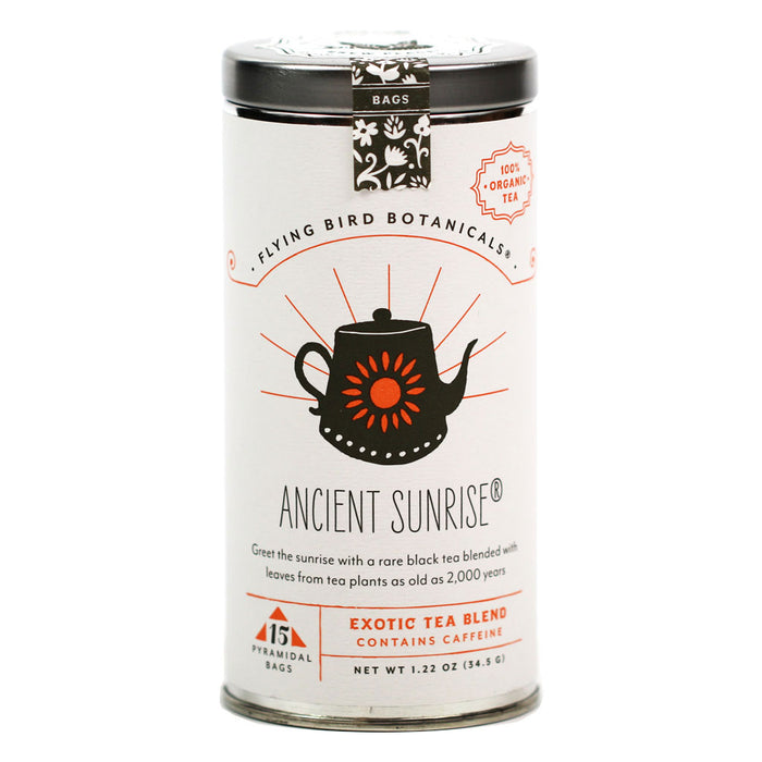 Flying Bird Botanicals - Ancient Sunrise Organic Rare Black Tea