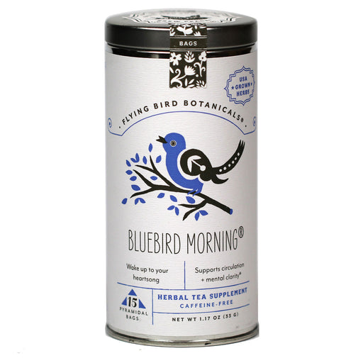 Flying Bird Botanicals - BlueBird Morning Organic Herbal Tea