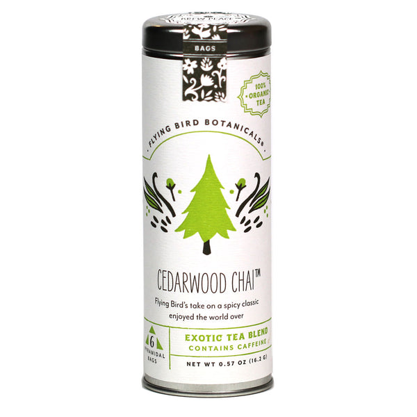 Flying Bird Botanicals - Organic Cedarwood Chai Tea
