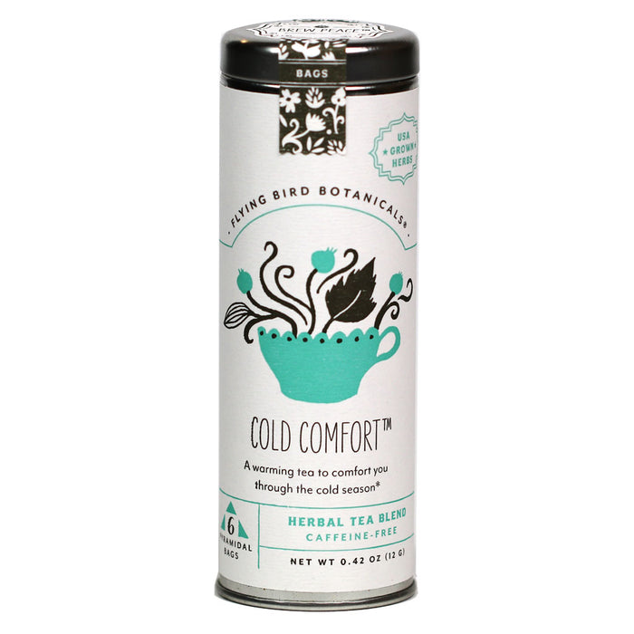 Flying Bird Botanicals - Organic Cold Comfort Tea