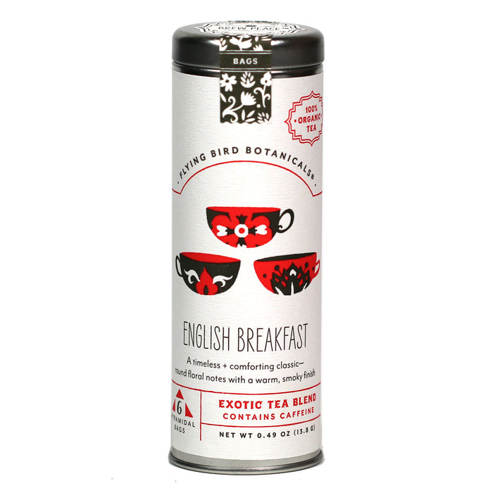 Flying Bird Botanicals - Organic English Breakfast Black Tea