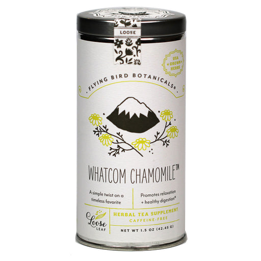 Flying Bird Botanicals - Organic Whatcom Chamomile Tea