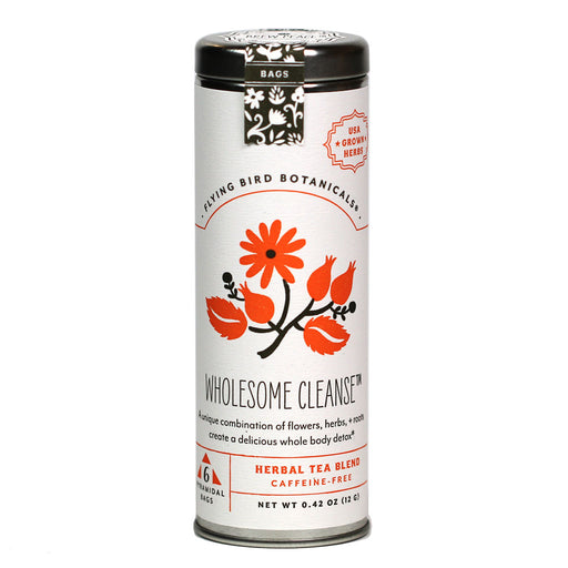 Flying Bird Botanicals - Organic Wholesome Cleanse Tea