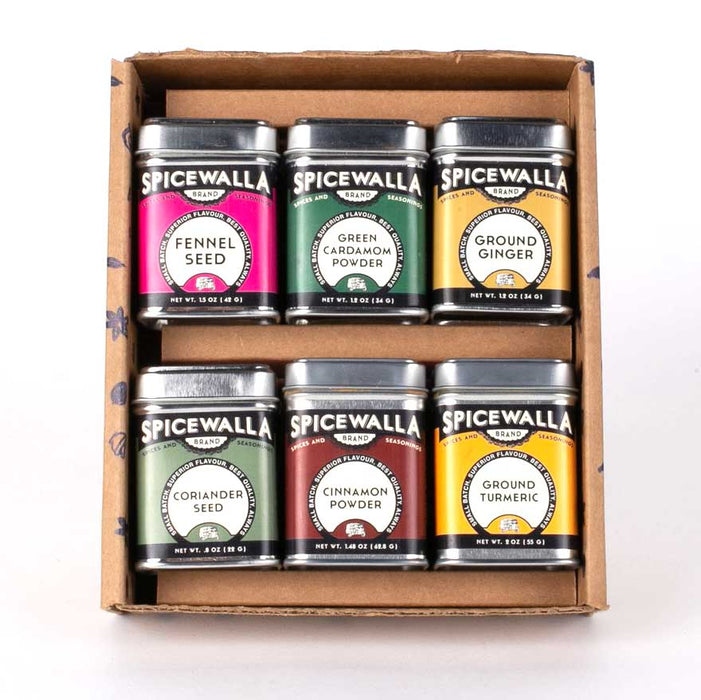 For the Health of it Spice Rub Collection, 6 Tins Gift Set