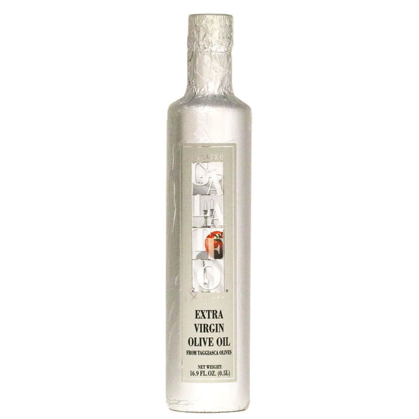 Galateo - Taggiasca Extra Virgin Olive Oil, White Wrap Bottle 500ml