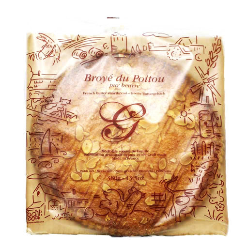 Goulibeur - Broye du Poitou (French Pure Butter Shortbread), 380g
