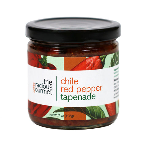 Gracious Gourmet - Chile Red Pepper Tapenade, 7oz