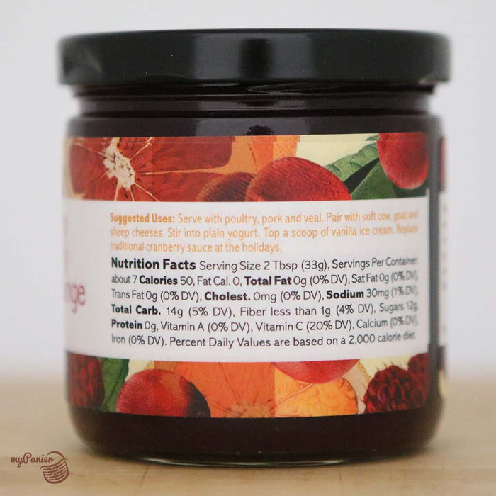 Gracious Gourmet - Cranberry Raspberry Blood Orange Spread, 8oz