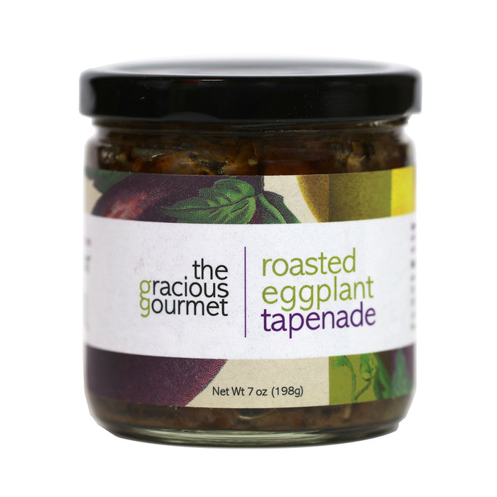 Gracious Gourmet - Roasted Eggplant Tapenade, 7oz