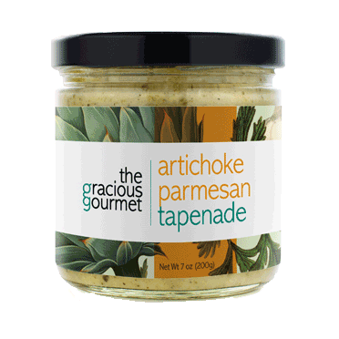Gracious Gourmet - Tapenade Duo, Artichoke Parmesan and Black Olives, 14 oz