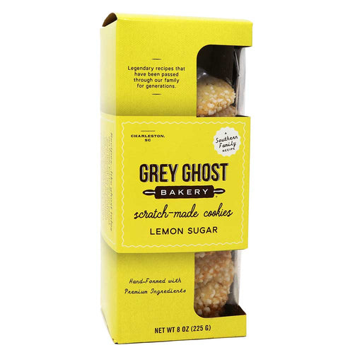 Grey Ghost Bakery, Lemon Sugar Cookies, 8oz