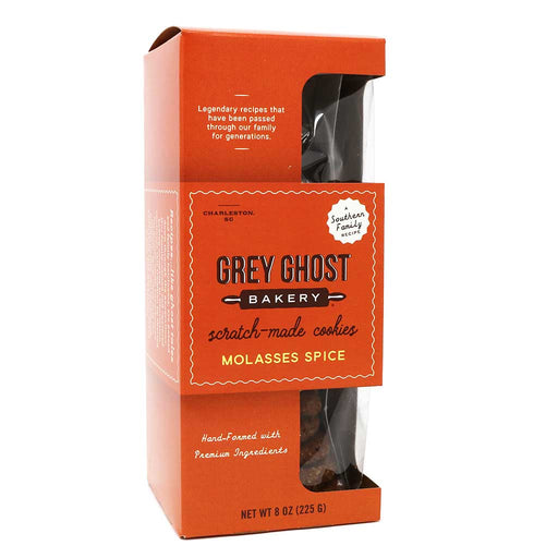 Grey Ghost Bakery, Molasses Spice Cookies, 8oz