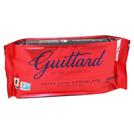 Guittard Chocolate - Extra Dark Chocolate Chips (63% Cacao), 11.5oz