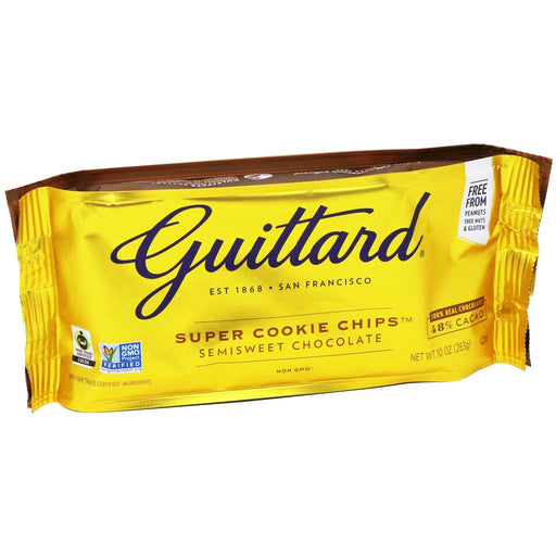 Guittard Chocolate - Super Cookie Chocolate Chips, 10oz
