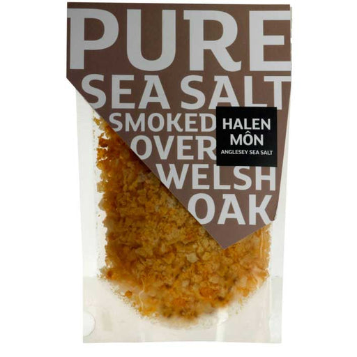 Halen Mon - Pure Sea Salt Smoked Over Welsh Oak, 100g Pouch
