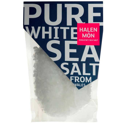 Halen Mon - Pure White Sea Salt PDO, 100g Pouch