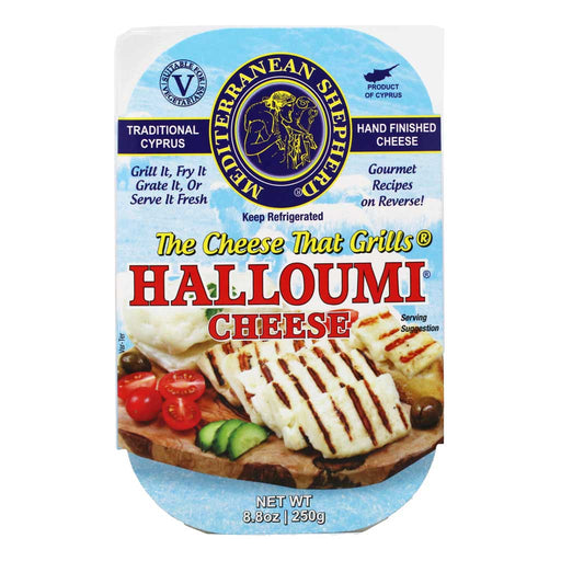 Mediterranean Shepherds - Cyprus Halloumi Cheese, 8.8oz (250g)