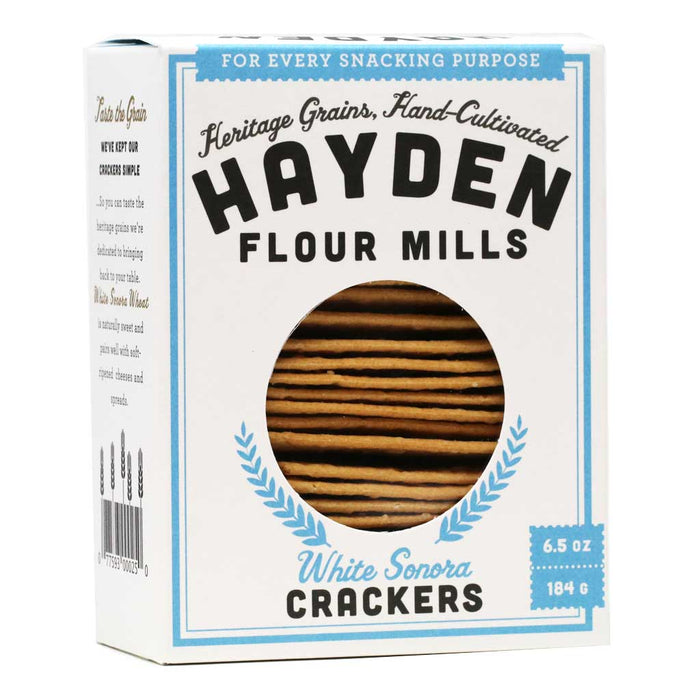 Hayden - White Sonora Crackers, 6.5oz