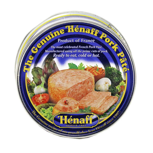 Henaff - French Pork Pate, 153g Can (5.4oz)