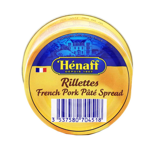 Henaff - French Pork Rillettes, 127g Can