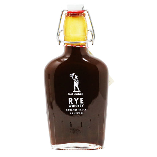 Hot Cakes - Rye Whiskey Caramel Sauce, 10oz **Limited Edition**
