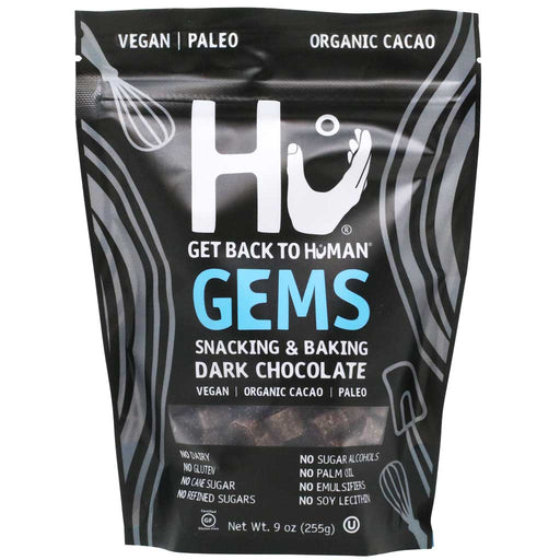 Hu Gems Snacking & Baking Dark Chocolate, 9oz