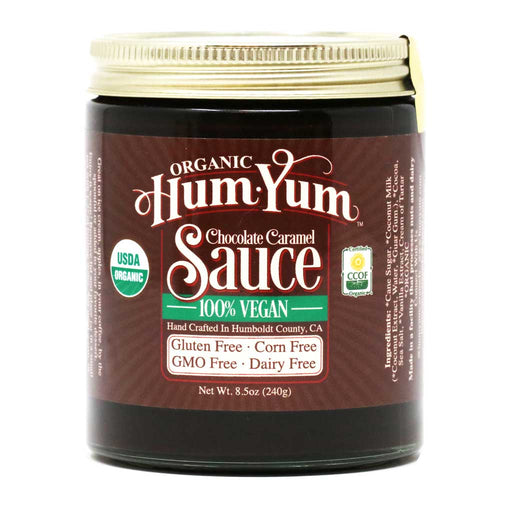 Hum Yum - Organic Vegan Chocolate Sauce, 8.5oz
