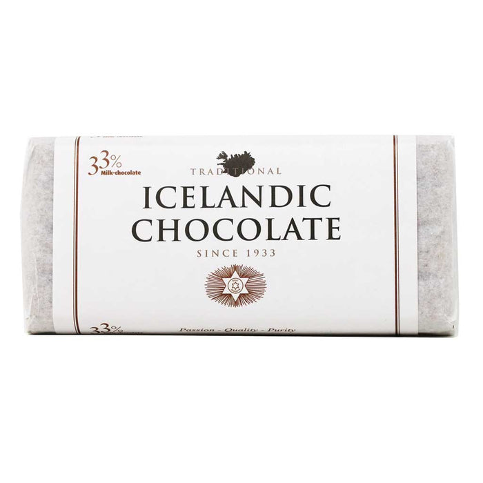 Noi Sirius - 33% Icelandic Milk Chocolate Two-Bar Pack, 7oz (200g)