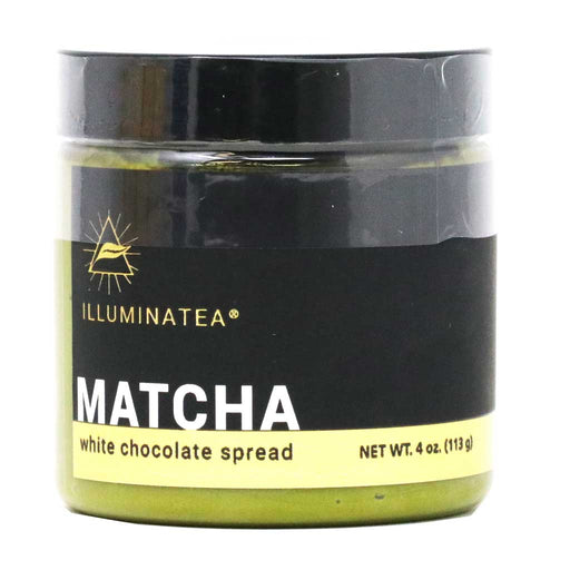 Illuminatea - Matcha White Chocolate Spread, 4oz Jar