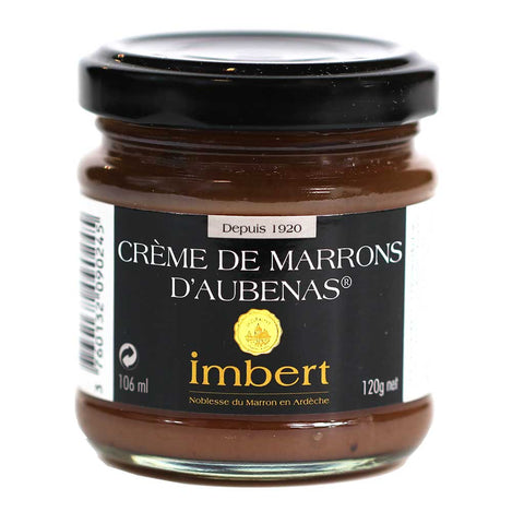 Imbert Chestnut Cream (Creme de Marrons), 120g Jar