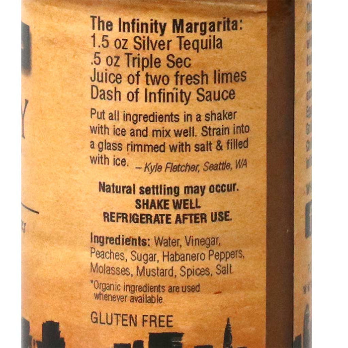 Infinity Sauces - Original Habanero Hot Sauce, 5oz