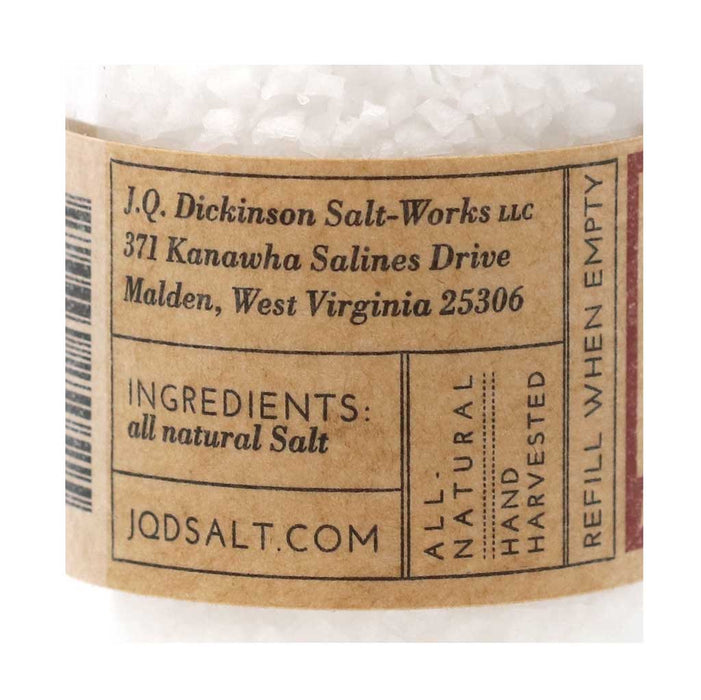 JQ Dickinson - All-Natural Heirloom Salt Grinder, 2.5oz