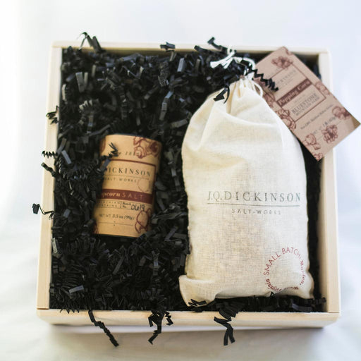 JQ Dickinson - Popcorn Salt & Popping Corn Gift Set