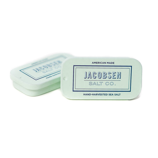 Jacobsen Salt - Flake Finishing Sea Salt, 0.42oz Slide Tin