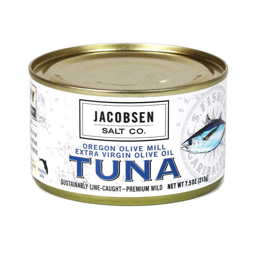 Jacobsen - Oregon Wild Albacore Tuna, 7.5oz