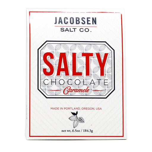 Jacobsen - Salty Chocolate Caramels, 6.5oz
