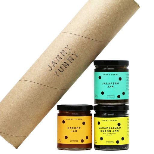 Jammy Yummy - BBQ Dreamers Vegetable Jams, 3-Pack